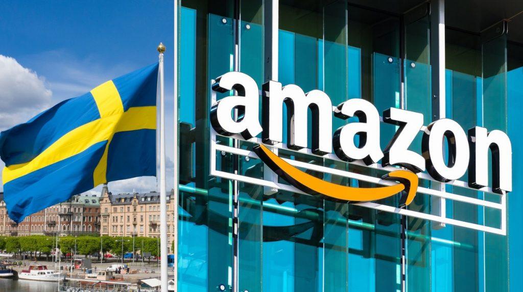 amazon Švedska